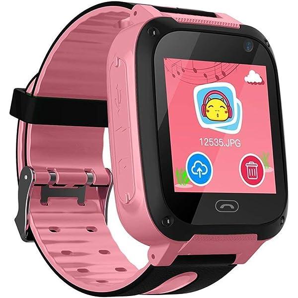 Reloj inteligente de pulsera para niños, táctil, localización GPS ...