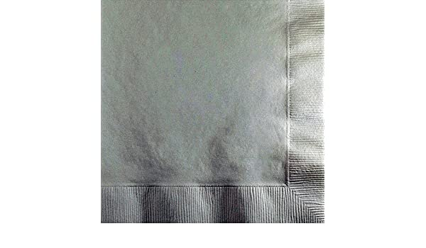 Creative Converting 57000B 500 Count Case Touch of Color 2-Ply Paper Beverage Napkins White