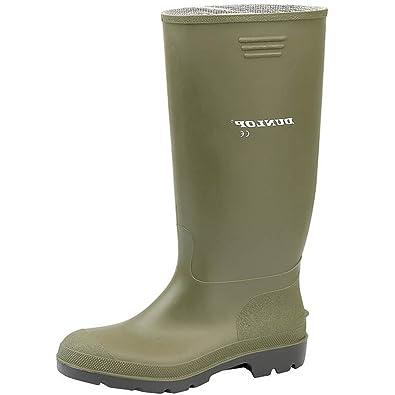 953527a23d1 Dunlop PRICEMASTOR BUDGET WELLINGTON BOOTS GREEN  Amazon.co.uk ...
