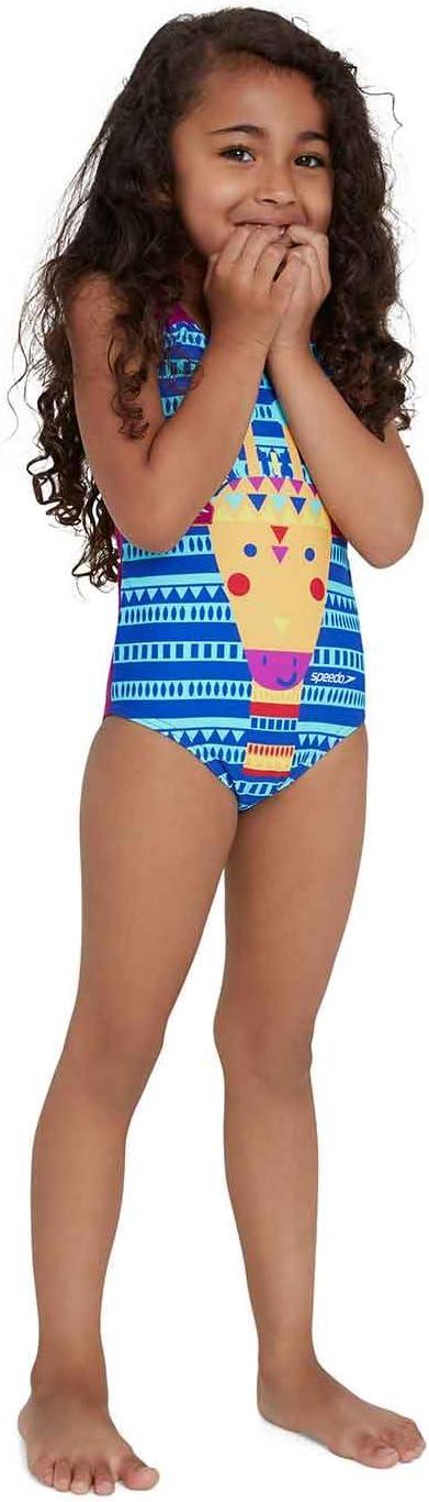 Speedo M/ädchen Junglegina Digital Applique Swimsuit Trainingsanzug
