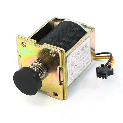 Sourcingmap – Dc solenoide elettromagnete; modelo N Color zx-5; Tamaño para color