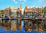 we have company jigsaw puzzle - Camike Press 1000 Piece Jigsaw Puzzle for Adults, Teens and Family, An Amsterdam RefleXion, 20 x 27