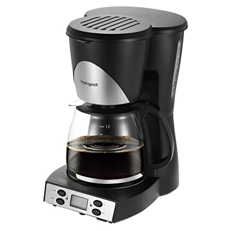 Amazon.com: homgeek 1.5L Cafetera eléctrica programable ...