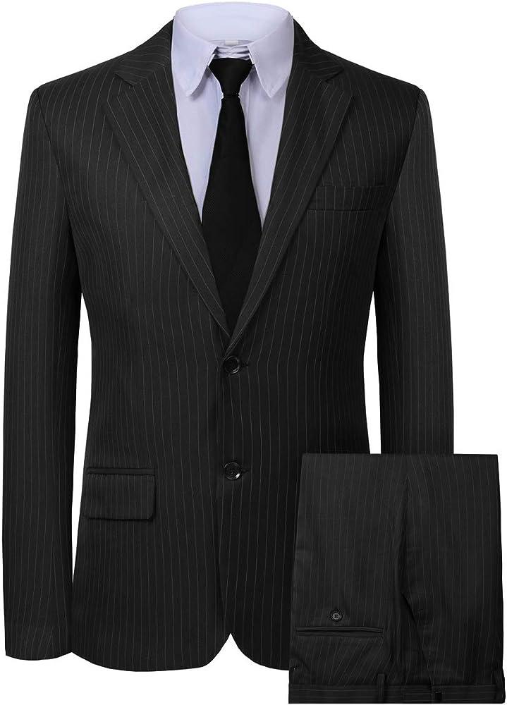 Men's Blazer 2 Pieces Casual Business