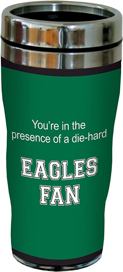 Tree-Free Greetings sg24860 Colonials College Basketball Sip N Go Stainless Steel Lined Travel Tumbler 16 Ounce Tree Free