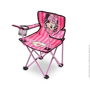 Silla Plegable para niños - Minnie Mouse - Camping: Amazon ...