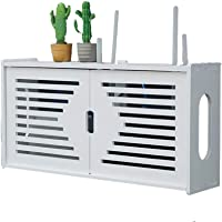 zhouxi PVC Multifuncional Set-Top Box Rack Router WiFi Caja Almacenamiento Gestión…