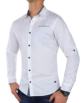 029230c9059 Jack   Jones New Mens Nord Ls Long Sleeve Shirt Smart Semi Casual Stretch   Amazon.co.uk  Clothing