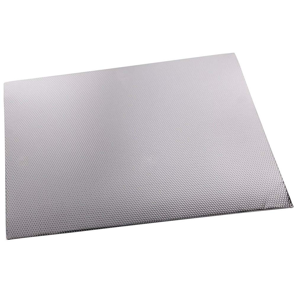 "MS Home Multi-Purpose Insulated Skid-Free Kitchen Countertop Mat - Heat-Resistant, Ant-Bacterial, Heavy-Duty, Durable (20"" x 17"")"