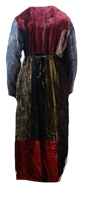 Sacred Threads Rayon Velvet Patched Artsy Princess Seams Dress 2X