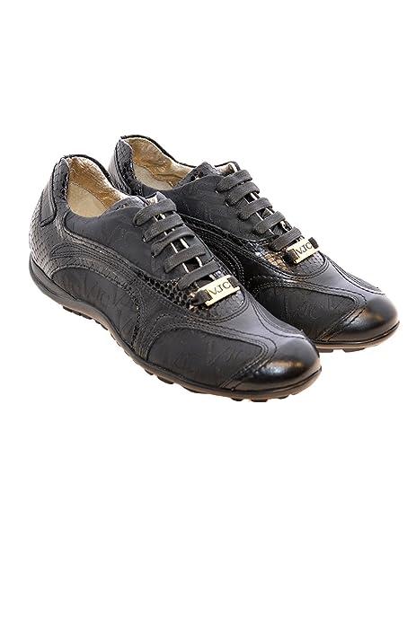 VJC VERSACE - Zapatillas para mujer Negro negro 35: Amazon.es: Zapatos y complementos