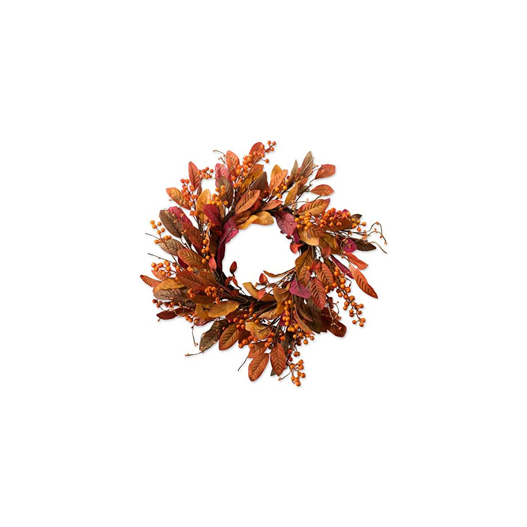 DII-Decorative-Leaves-Berries-22-Fall-Harvest-Wreath-for-Front-Door-or-Indoor-Wall-Dcor-to-Celebrate-The-Thanksgiving-Fall-Season