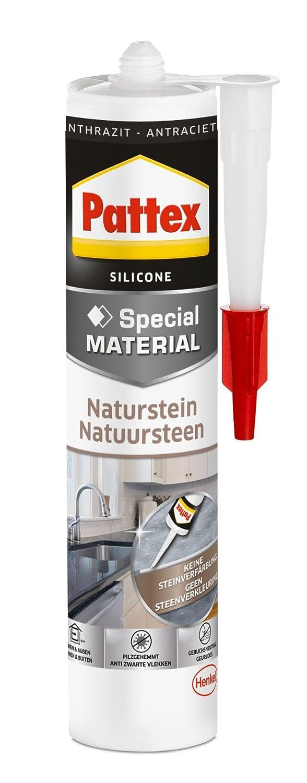 Pattex piedra natural de silicona gris, PFNSA