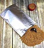 zip seal ziplock mylar bag - Stand Up Pouch 5 Mil 1-Gallon Gusseted Ziplock Zip Seal Mylar Bag for Long Term Food Storage (20) 10'x16