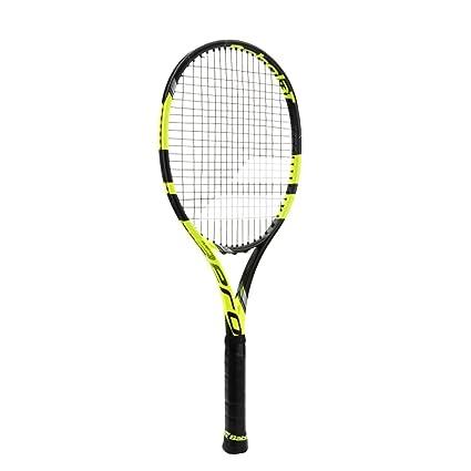 "Babolat Pure Aero VS Yellow/Black Tennis Racquet (4 1/2"" Grip"