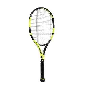 Amazon.com: Babolat Pure Aero vs amarillo/negro raqueta de ...