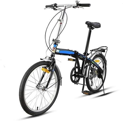 Saturey 7-Speed Plegable Bicicleta de 20 Pulgadas, Plegable ...