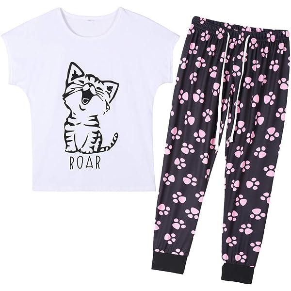 CafePress Crazy Bird Lady Womens Light Pajamas Womens PJs