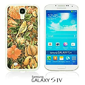 OnlineBestDigitalTM - Flower Pattern Hardback Case for Samsung Galaxy S4 IV I9500 / I9505 - Welcome Summer Flower