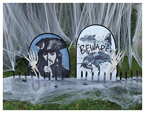 Disney Pirates of the Caribbean Graveyard Scene (Create Your Own Halloween Tombstone)