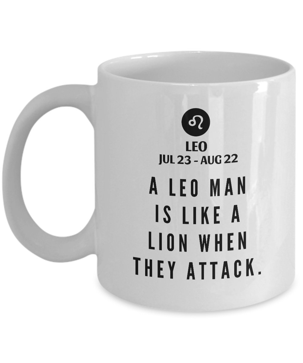 Amazon STHstore A LEO MAN IS LIKE LION WHEN THEY ATTACK