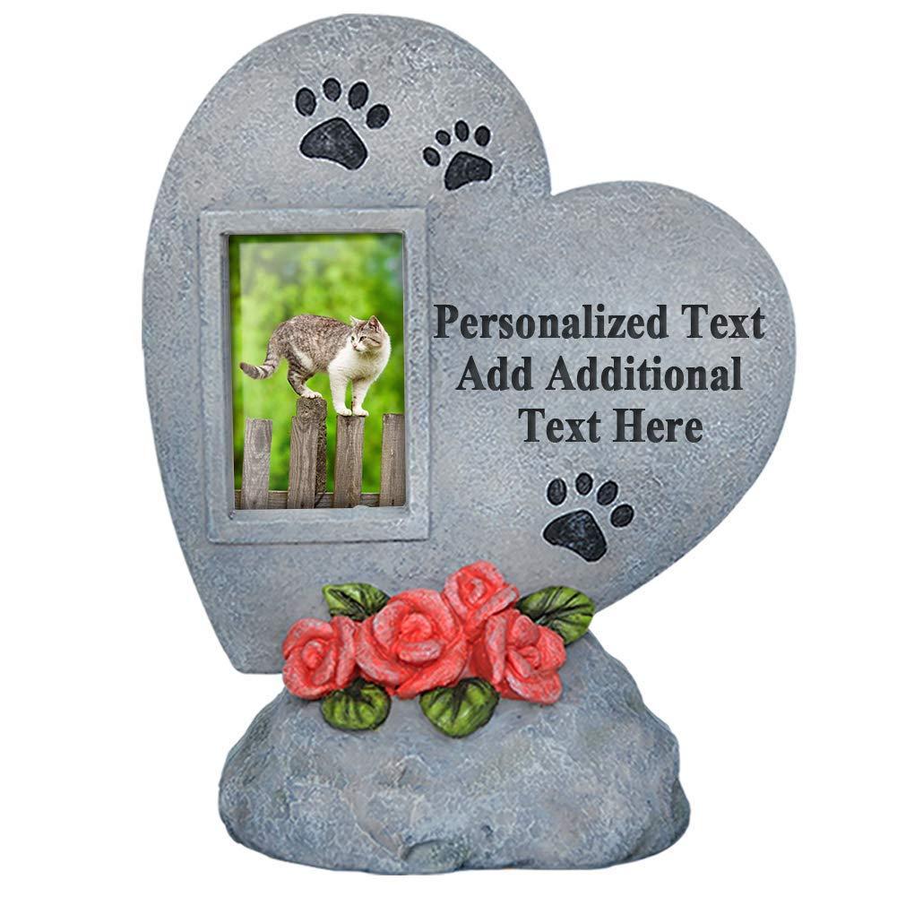 PETAFLOP Personalized Pet Memorial Stones Dog Cat Headstone