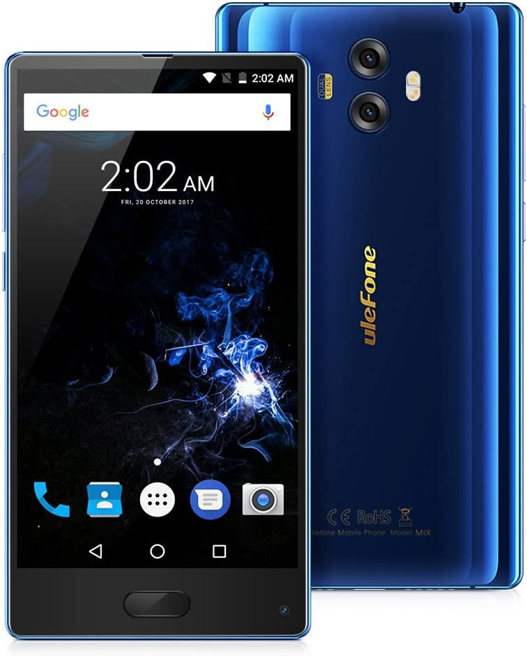 Ulefone Mix - 4G Smartphone Libre (Android 7.0, 5.5