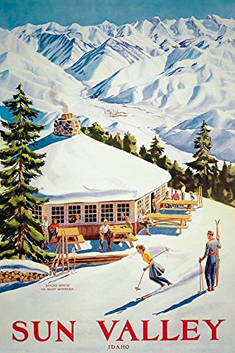 - Ron DiCianni Sun Valley Idaho CANVAS Vintage Reproduction - 12