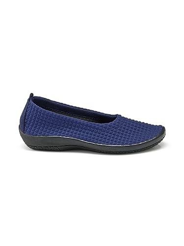 Avena Damen Hallux-Soft-Slipper - Blau Gr. 37