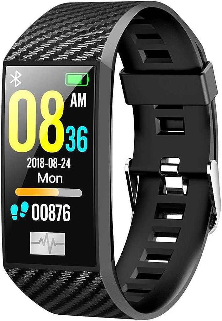 Worsworthy Pulsera de Actividad, Relojes Deportivos GPS con Pulsómetro Impermeable IP68 de frecuencia cardíaca Monitoreo del sueño Pulsera para Android y iOS Reloj Inteligente Hombres Mujeres Niños