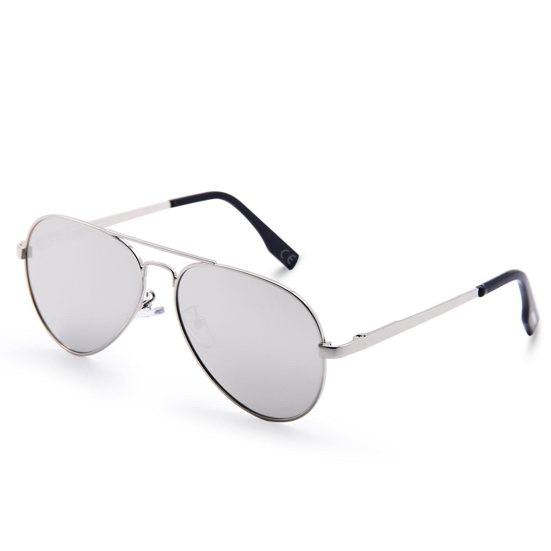 AMZTM Classico Aviatore Occhiali Da Sole Polarizzati Bambini