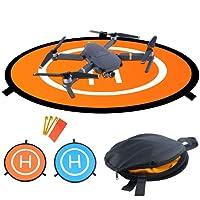 Bystep Drone Abschussrampe für DJI Mavic Pro, Drone Landing Pad, Faltbares wasserdichtes D75cm Landing Pad für DJI Mavic Pro Phantom 2/3/4 Inspire 1