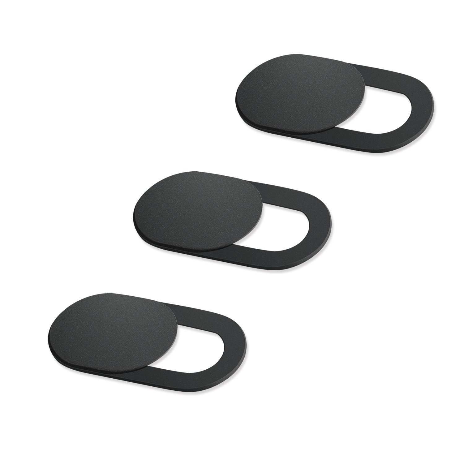 Nrpfell 3 Pack Webcam Cover Ultra-Thin Slide Privacy Protector Camera Cover for Laptop Phone, Protect Your Privacy and Security, Strong Adhesive Block