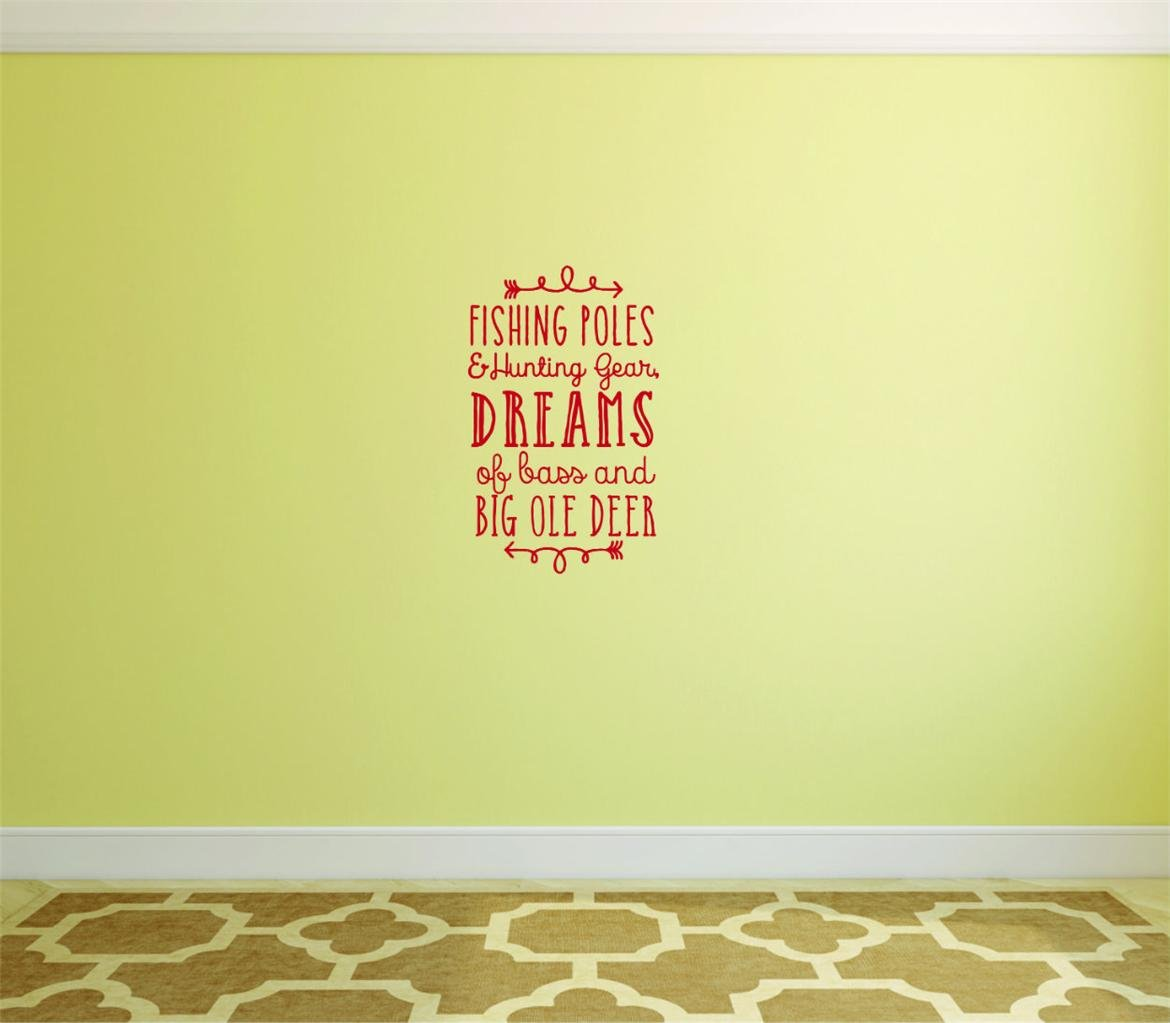 Decal Wall Sticker - ON SALE NOW : Fishing Poles & Hunting Gear ...