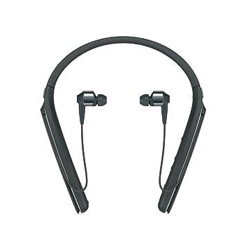 Sony WI1000X - Auriculares inalámbricos Hi-Res Audio con Bluetooth, Negro