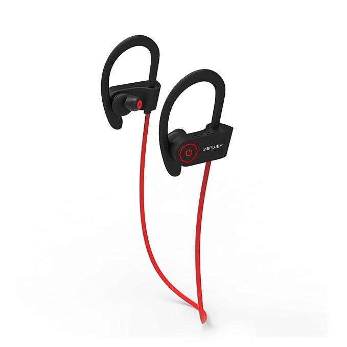ZERWEY Wireless Sport Bluetooth Cuffie HD Beats Suono di Alta qualità a  Prova di Sudore Stabile c2be2c69ea4e