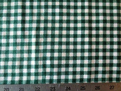 Mountain Lodge Green Check Flannel Cotton Northcott Fabric F20572-79