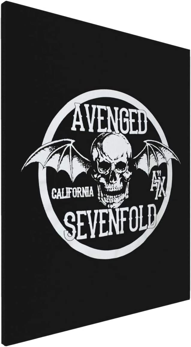 Painting Wall Art Board Painting Decal Stickers for Home Walls Avenged Sevenfold Home Decor Wall Art 16x20inch
