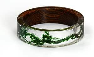 Wood Natural Landscape Rings