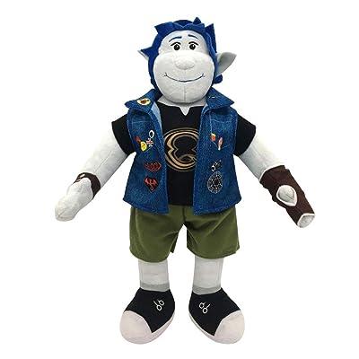 Hongzhi Craft Barley Lightfoot Plush 14.9 Inches Elf Brothers Soft Toys Denim Jacket: Toys & Games