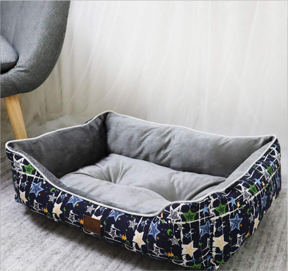 A4 XL(100X80X25CM) A4 XL(100X80X25CM) GZDXHN Dog House Four Seasons General Teddy Bomei Husky Large And Medium-Sized Dogs Pet Nest Warm And Comfortable