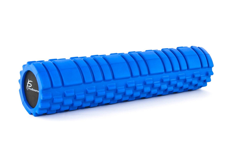 ProSource フォームローラー Foam Roller 4色 筋膜リリースローラー 効果的なマッサージ B00EV52HJ2 Blue-24x6-Inch Blue-24x6-Inch