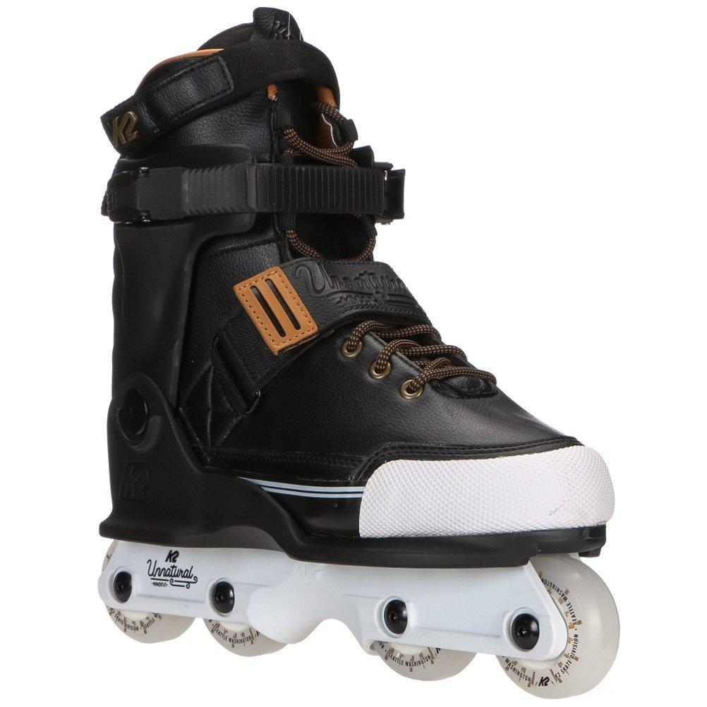 K2 Skate Unnatural Inline Skates, Black/Gold, 8