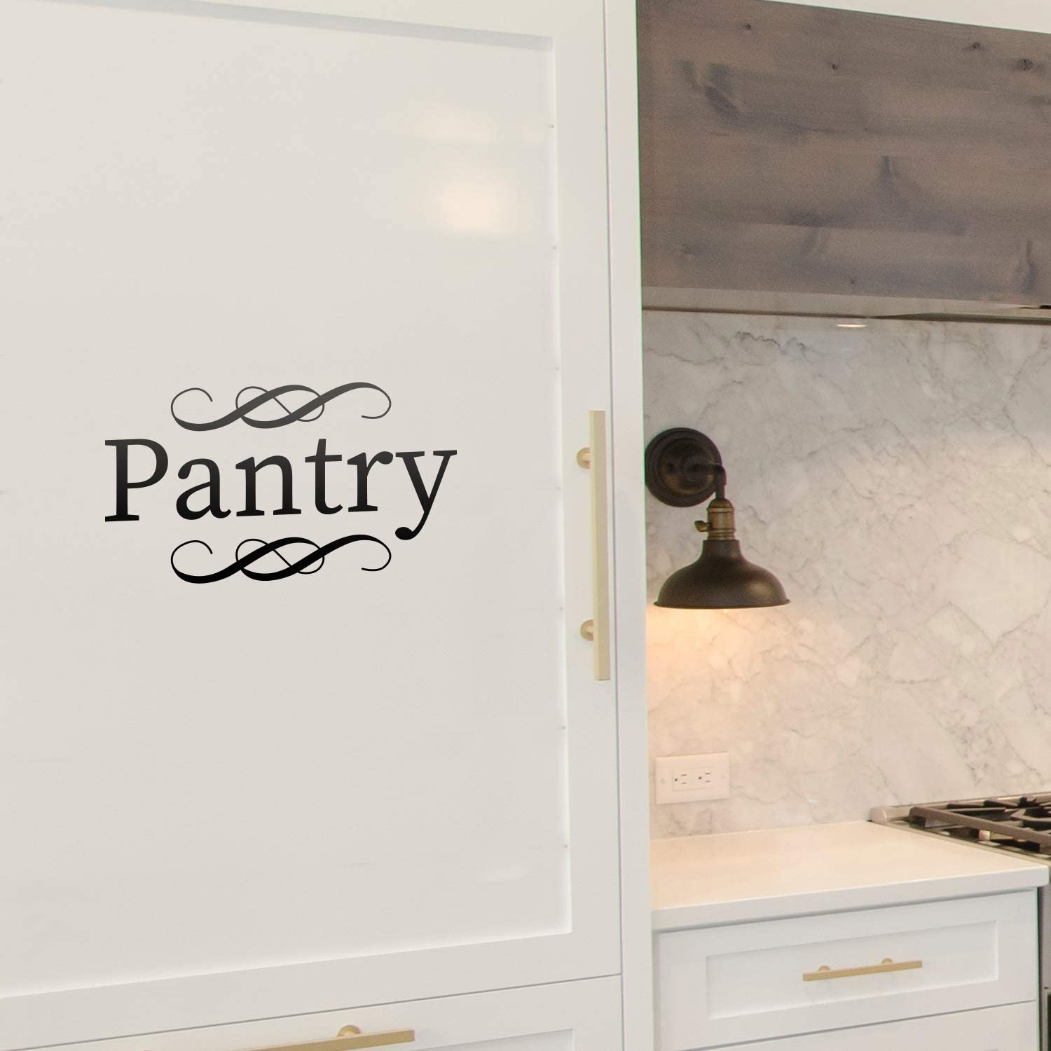 Vinyl Wall Art Decal - Pantry - 5