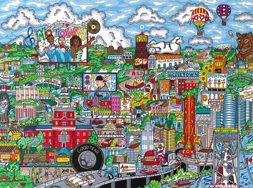 Andrews + Blaine Ltd Make It Detroit - 1,000 Pc Puzzle