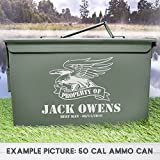 Flying Eagles Groomsman Wedding Ammo Cans