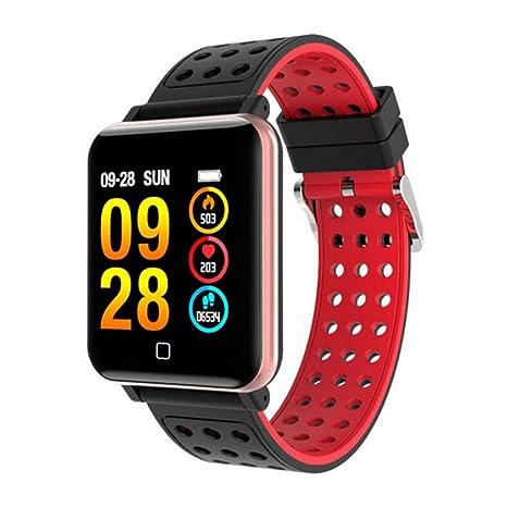 HOYHPK Smartwatch Pantalla Gorila Vaso Sangre Oxígeno ...