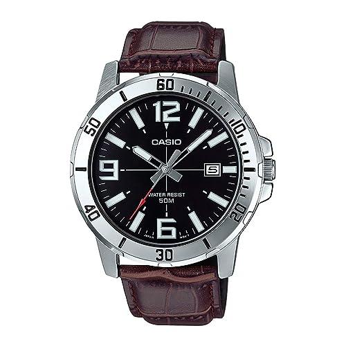 5. Casio Enticer Analog Black Dial Men's Watch