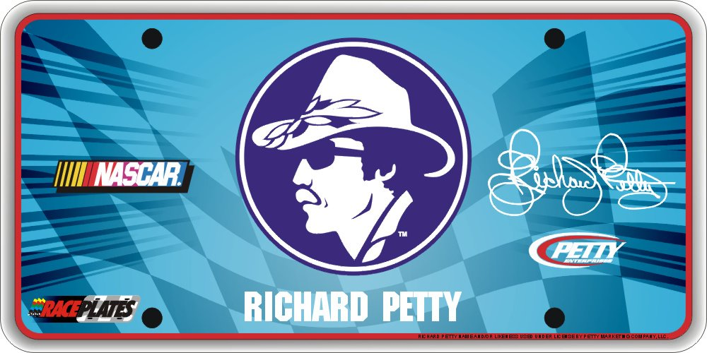 Race Plate Signature Series Richard Petty Historcial License Plate