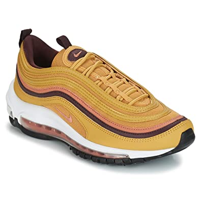 Nike AIR MAX 97 W Trainers Women Yellow Low top Trainers